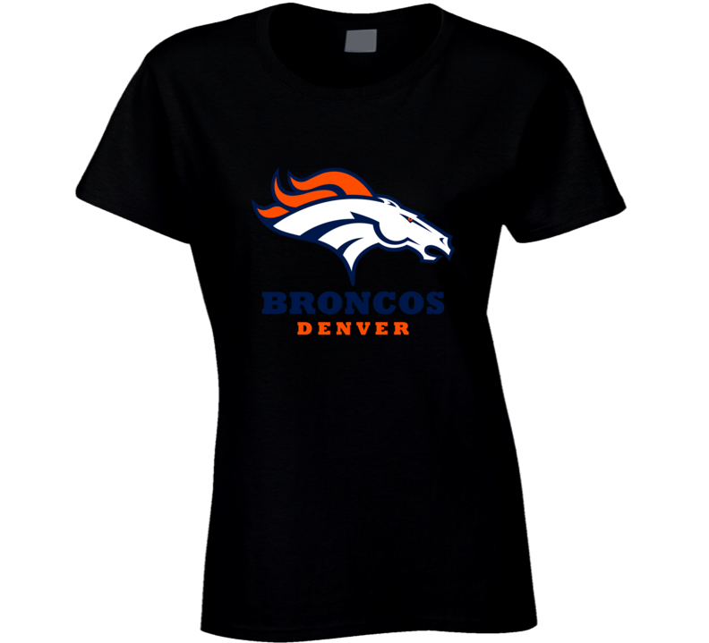 Denver Broncos Ladies Black Shirt