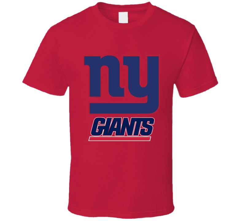 New York Giants NFL Football Team Shirt