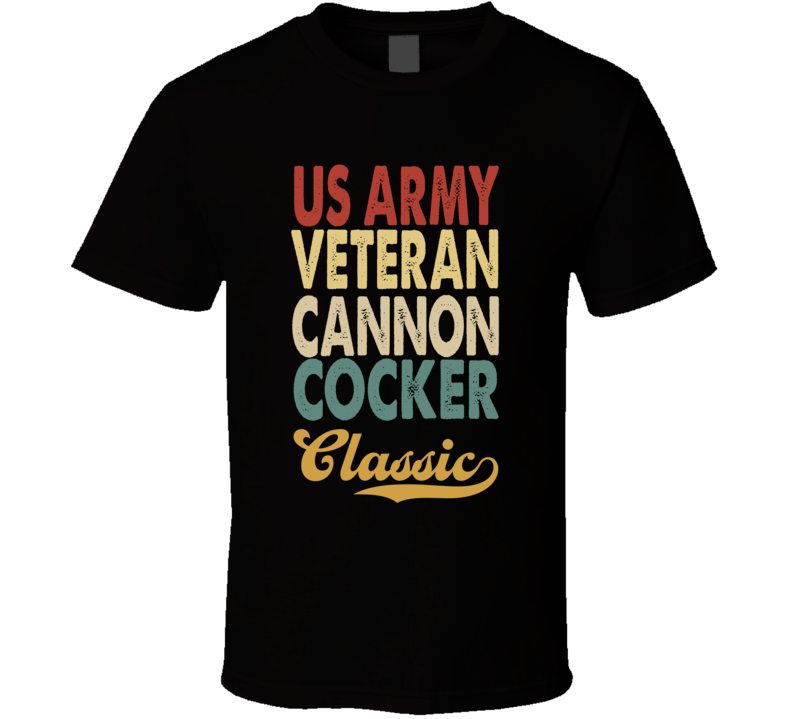 Cannon Cocker T Shirt