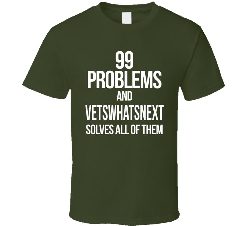 Vwn Veterans Campaign T Shirt