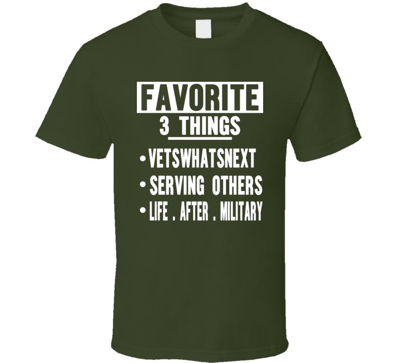 Vwn Charity Merchandise T Shirt