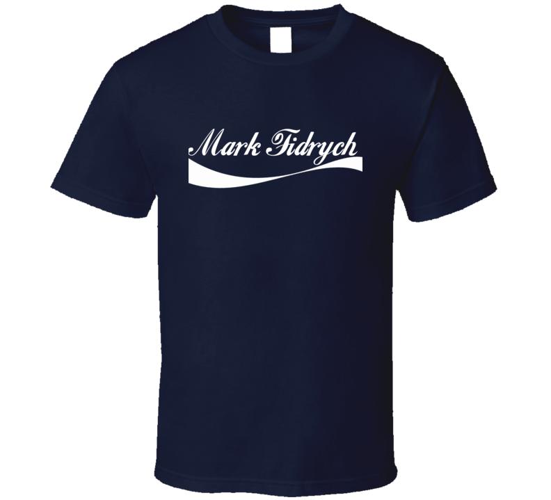 Mark Fidrych Detroit Baseball Player Cola Parody Cool Fan T Shirt