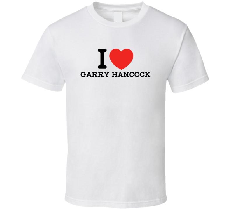 I Heart Garry Hancock Boston Baseball Player Classic T Shirt