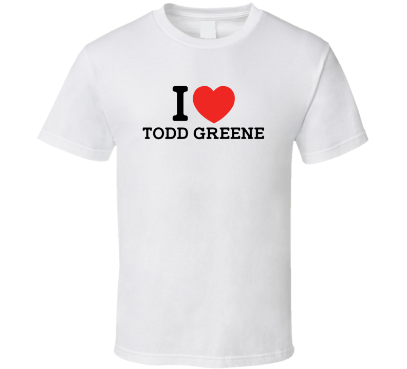 I Heart Todd Greene Toronto Baseball Player Classic T Shirt