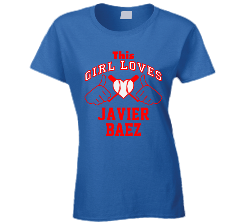 This Girl Loves Javier Baez Chicago CHI Baseball Player Classic T Shirt