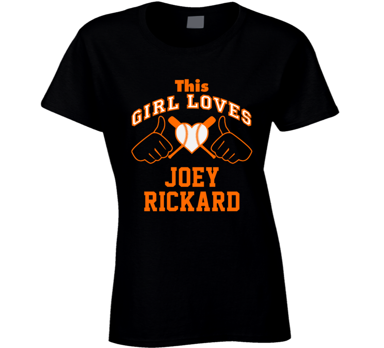 This Girl Loves Joey Rickard Baltimore Baseball Player Classic T Shirt