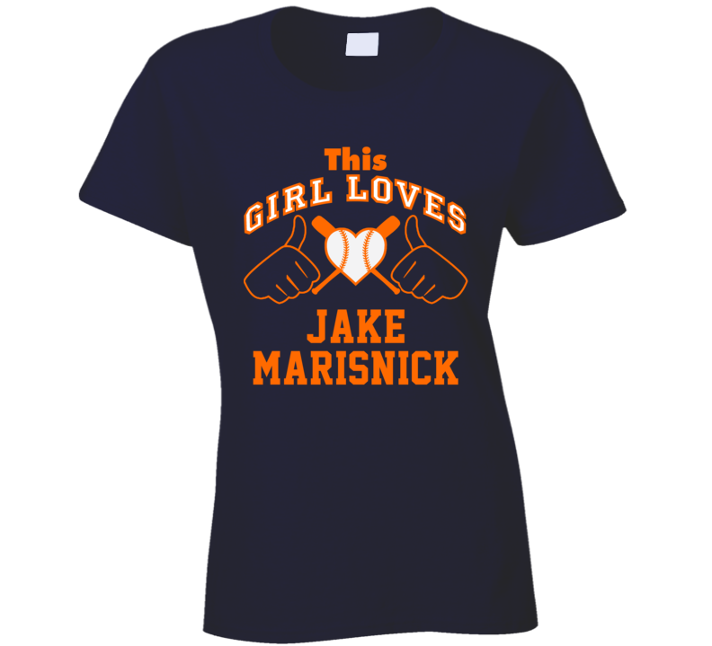 This Girl Loves Jake Marisnick Houston Baseball Player Classic T Shirt