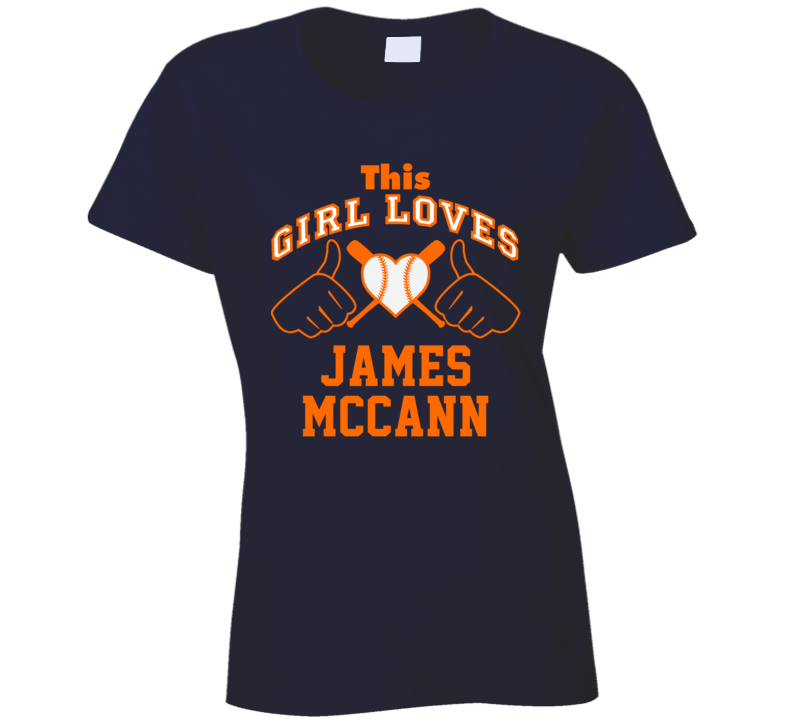 This Girl Loves James McCann Detroit Baseball Player Classic T Shirt