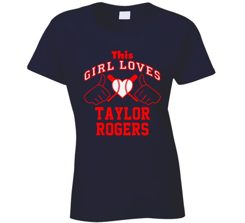 This Girl Loves Taylor Rogers Minnesota Baseball Player Classic T Shirt