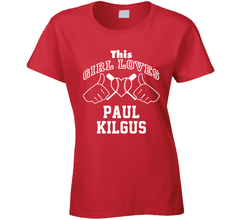 This Girl Loves Paul Kilgus St Louis Baseball Player Classic T Shirt