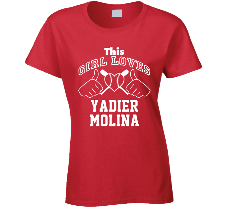 This Girl Loves Yadier Molina St Louis Baseball Player Classic T Shirt