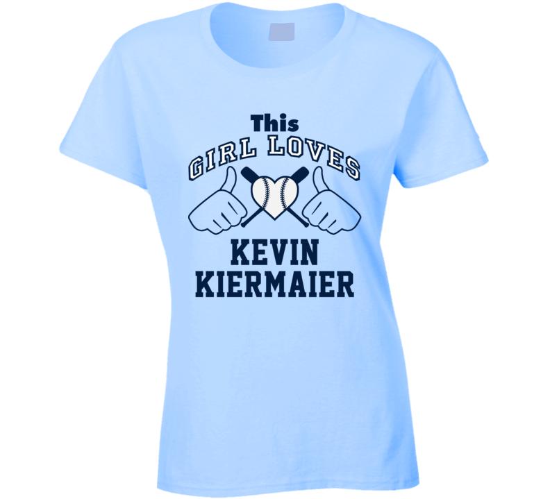 This Girl Loves Kevin Kiermaier Tampa Bay Baseball Player Classic T Shirt