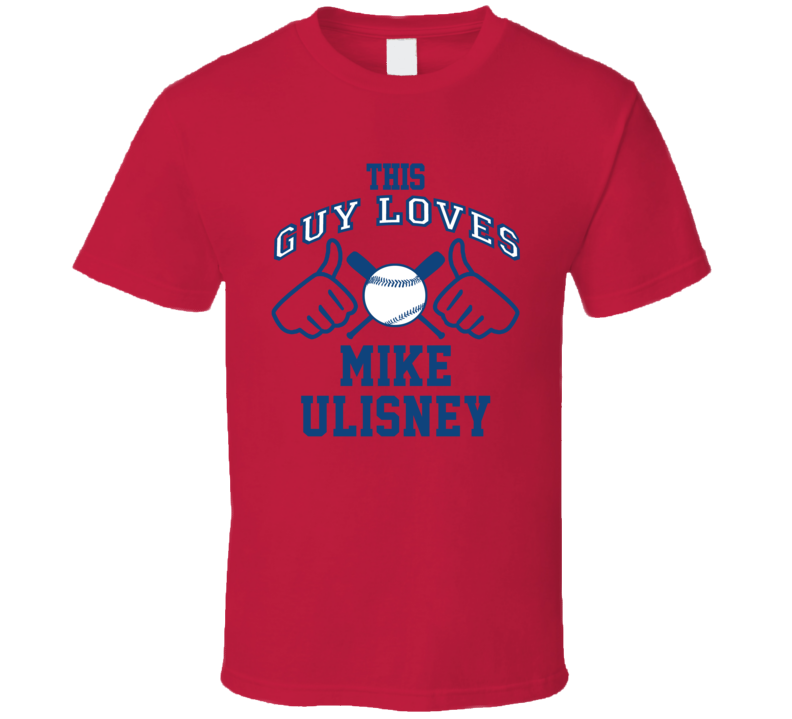 This Guy Loves Mike Ulisney Atlanta Baseball Player Classic T Shirt