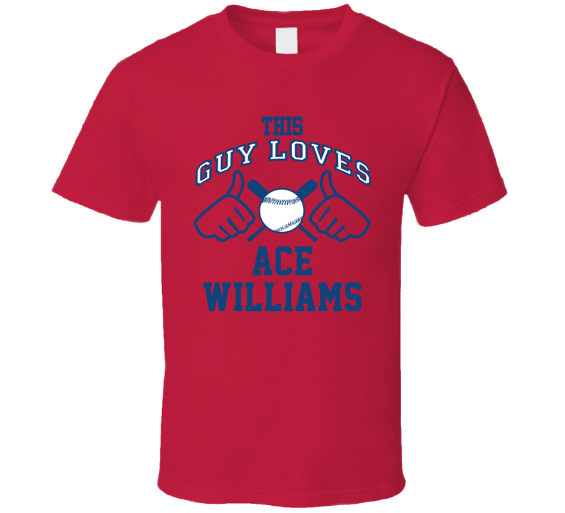 This Guy Loves Ace Williams Atlanta Baseball Player Classic T Shirt