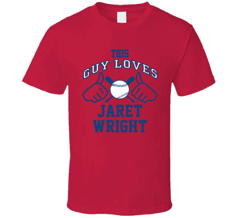 This Guy Loves Jaret Wright Atlanta Baseball Player Classic T Shirt