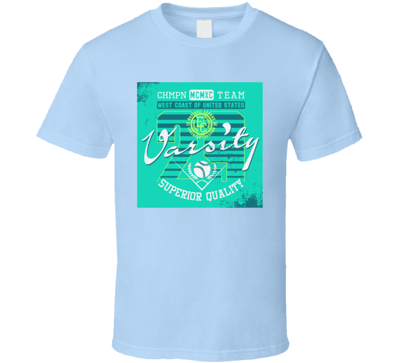 Varsity - Vector Graphics And Typography T-shirt Design For Apparel T Shirt