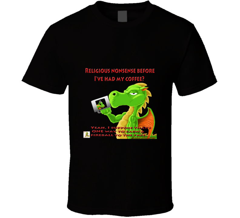 Church Of The Basement Dragon Design 2 T Shirt