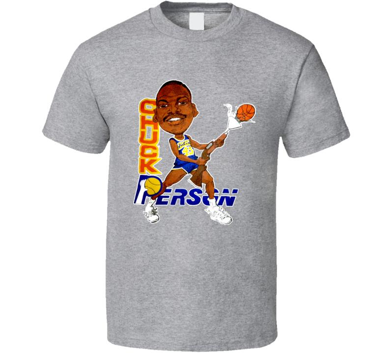 Chuck Person Basketball Caricature T Shirt