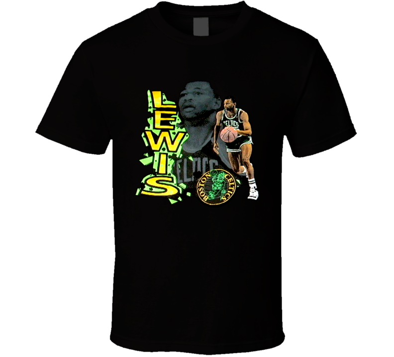 Reggie Lewis Retro Basketball T Shirt