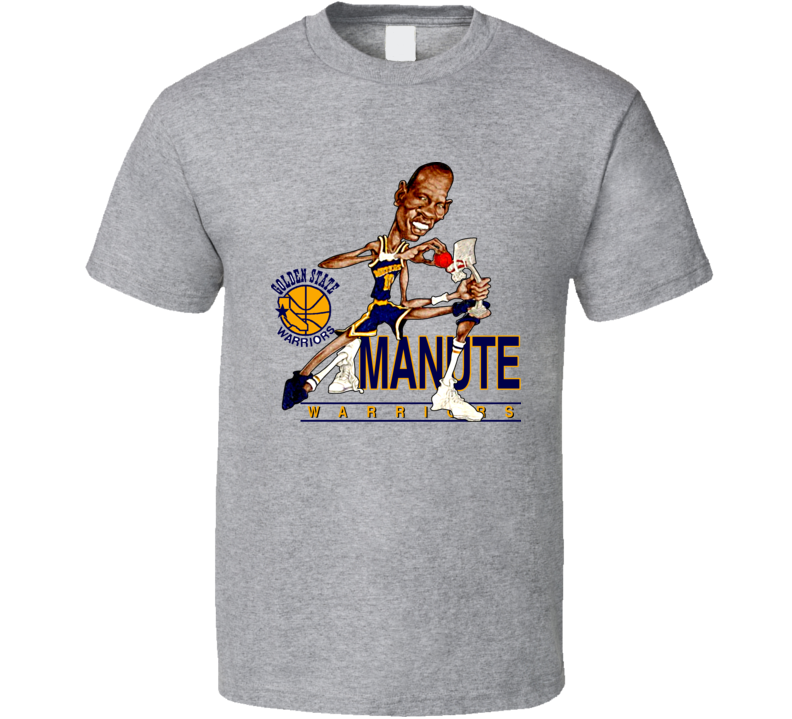 Manute Bol Retro Basketball Caricature T Shirt