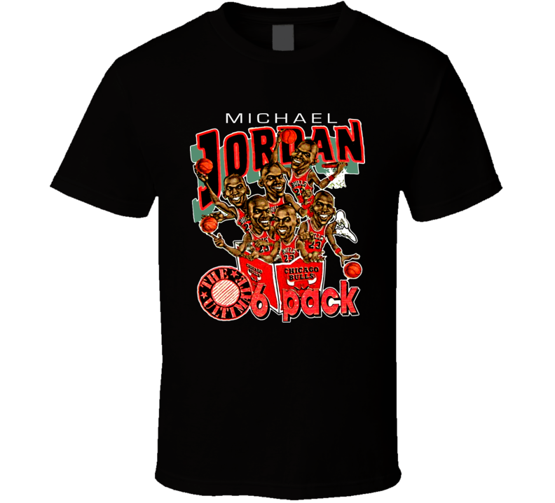 Michael Jordan Chicago Caricature T Shirt