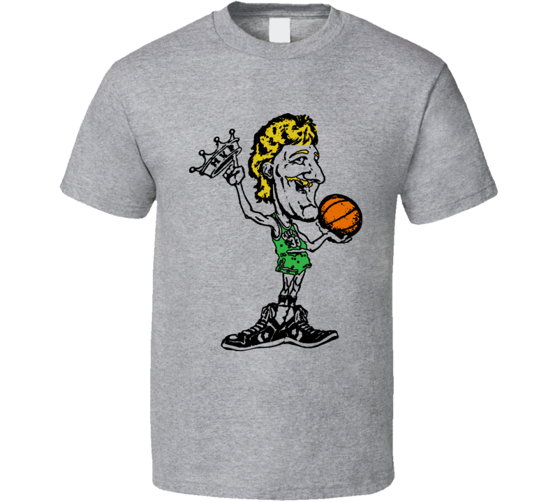 Larry Bird Retro Mvp T Shirt