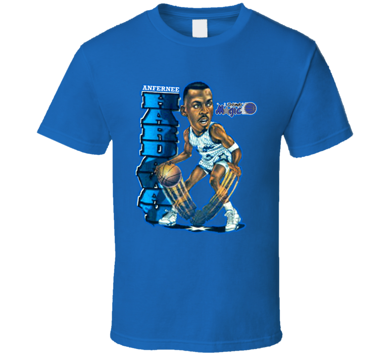 Penny Hardaway Basketball Caricature T Shirt