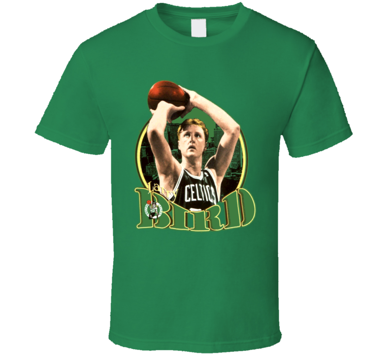 Larry Bird Retro Basketball Legend T Shirt