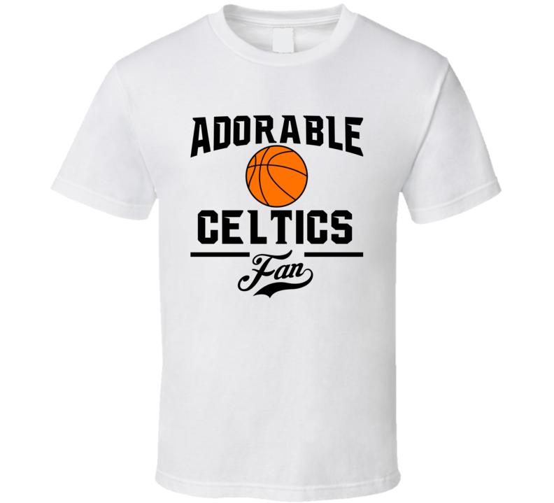 Adorable Boston Basketball Fan T Shirt