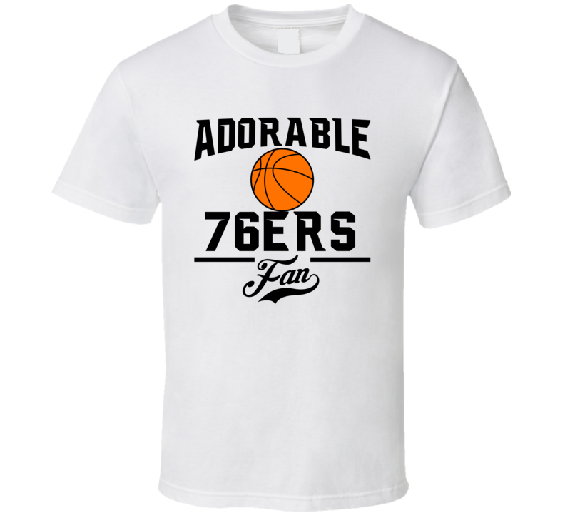 Adorable Philadelphia Basketball Fan T Shirt