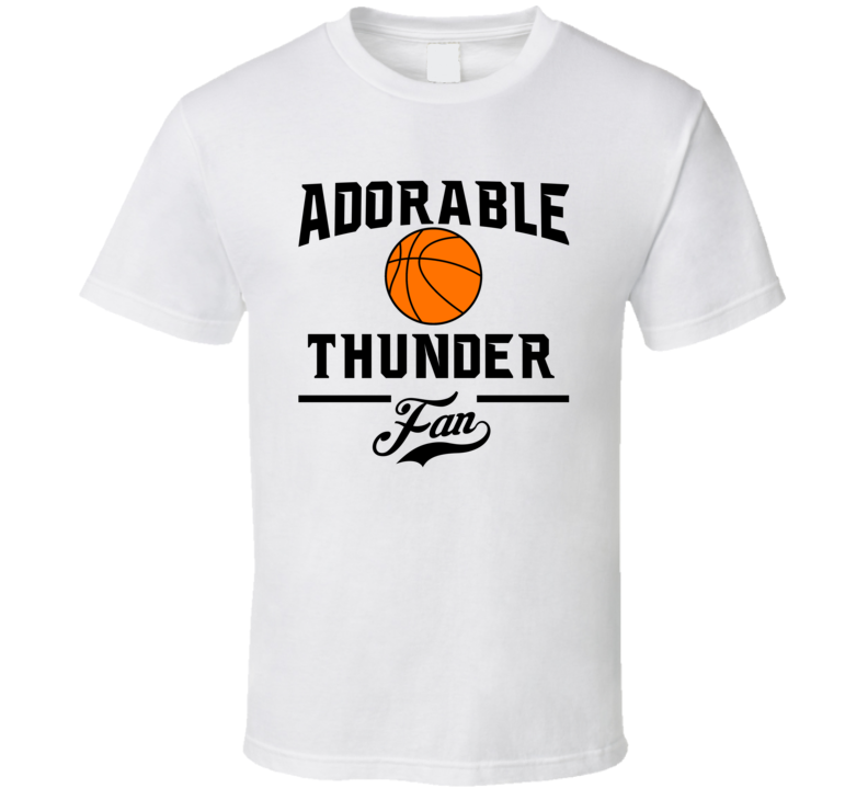 Adorable Oklahoma City Basketball Fan T Shirt