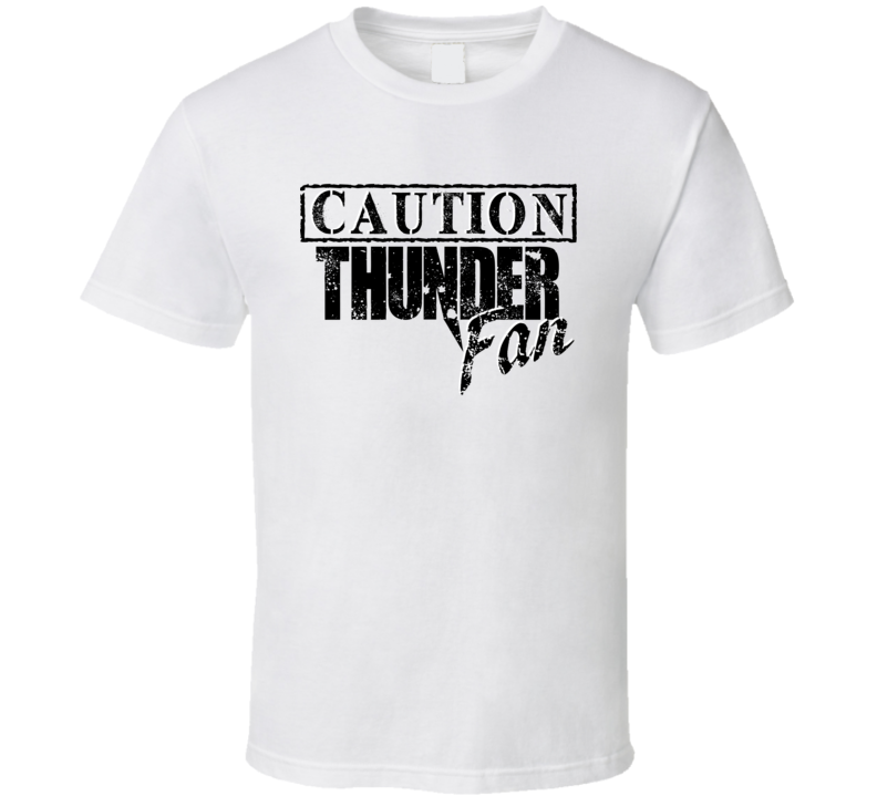 Caution Oklahoma City Basketball Sports Fan Team T Shirt