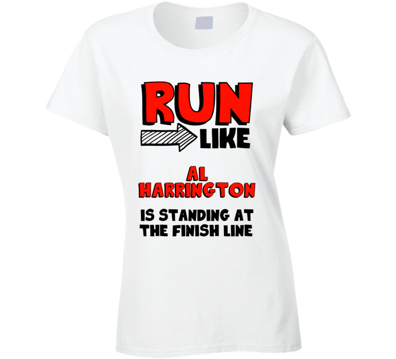 Al Harrington Run Like Is At Finish Line Washington Basketball T Shirt