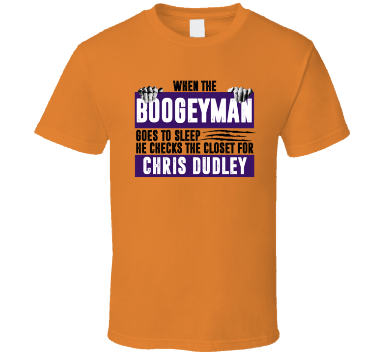 Chris Dudley Boogeyman Checks Closet For Phoenix Basketball T Shirt