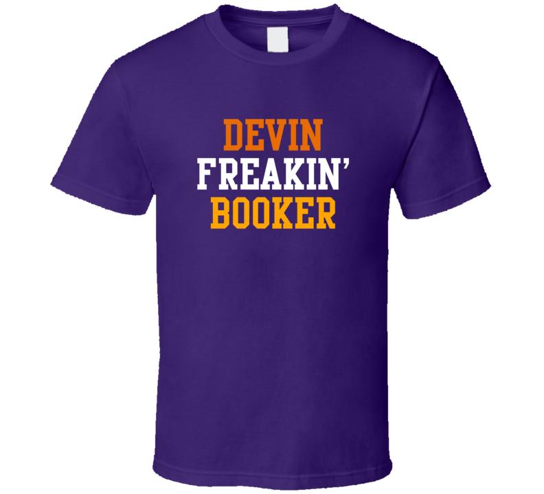 Devin Booker Freakin Favorite Phoenix Basketball Player Fan T Shirt
