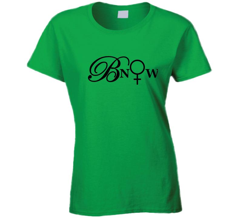 Bnow Black Letters T Shirt