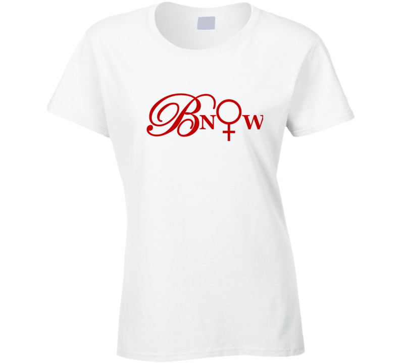 Bnow Red Letters T Shirt