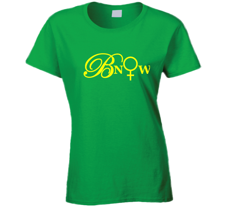 Bnow Yellow Letters T Shirt