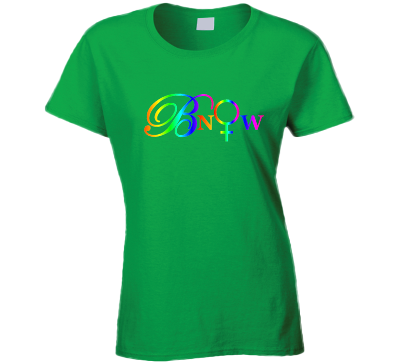 Bnow Letters Rainbow 2 T Shirt