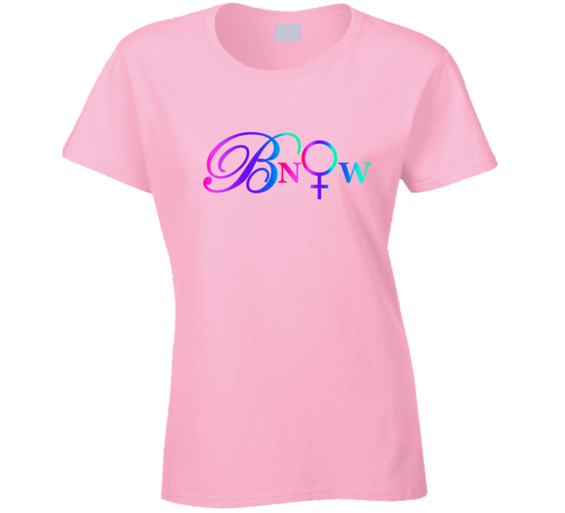 Bnow Letters Cool T Shirt