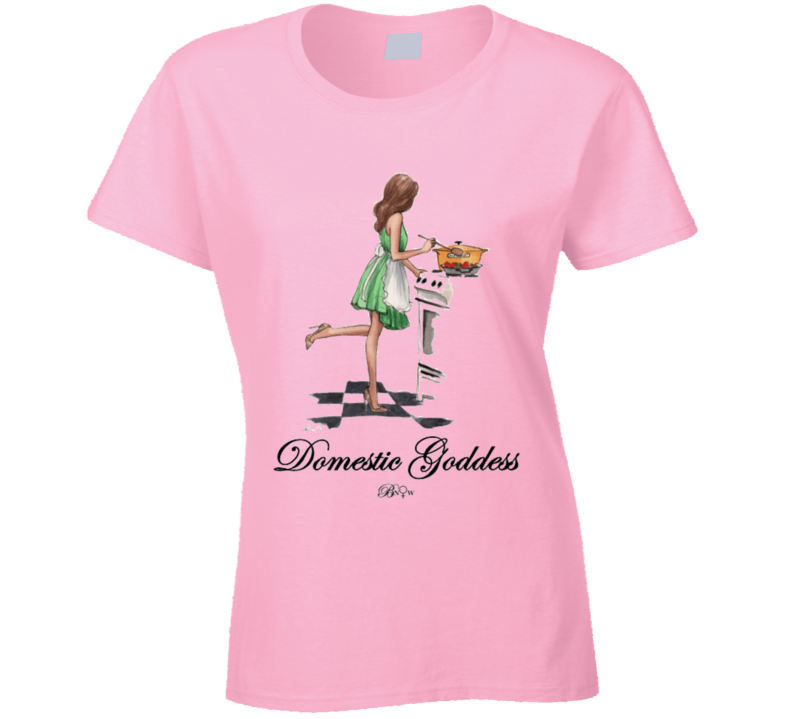 Domestic Goddess T Shirt