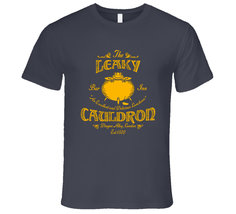the leaky charcoal T Shirt
