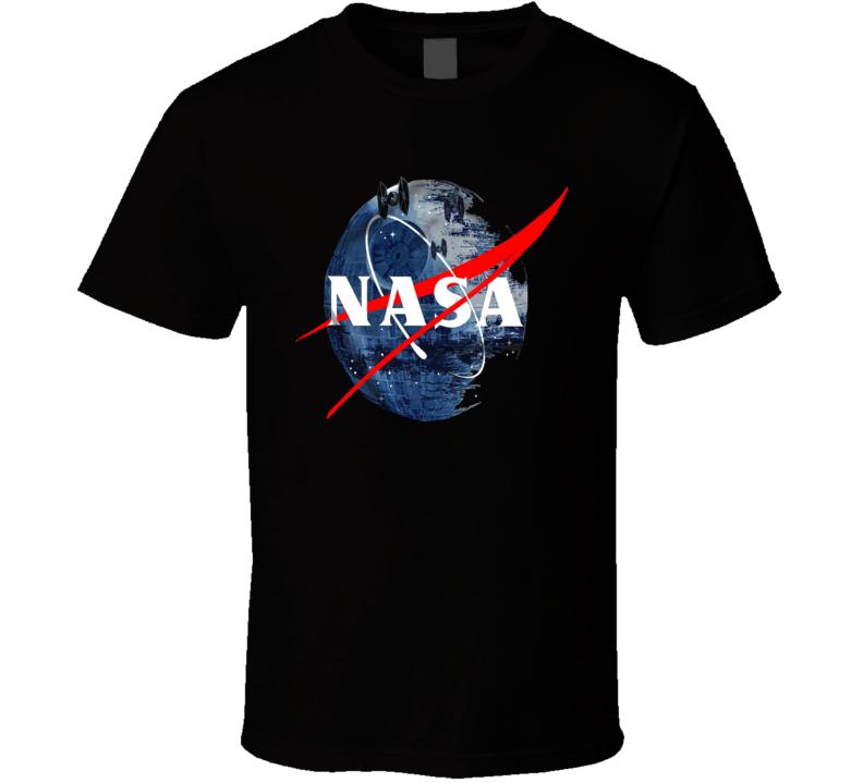 Nasa Star Wars Parody Star Logo Fan T Shirt