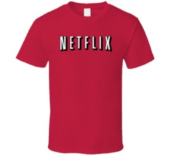 Netflix Logo Movies TV Series Binge Watch T Shirt