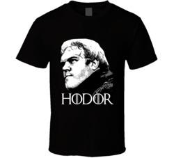 Hodor Game Of Thrones GOT Character Death Memorial Fan T Shirt