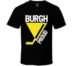 Burgh Proud Pittsburgh Hockey Fan Playoffs T Shirt