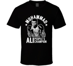 Muhammad Ali Peoples Champion Boxing Legend Fan Memorial T Shirt