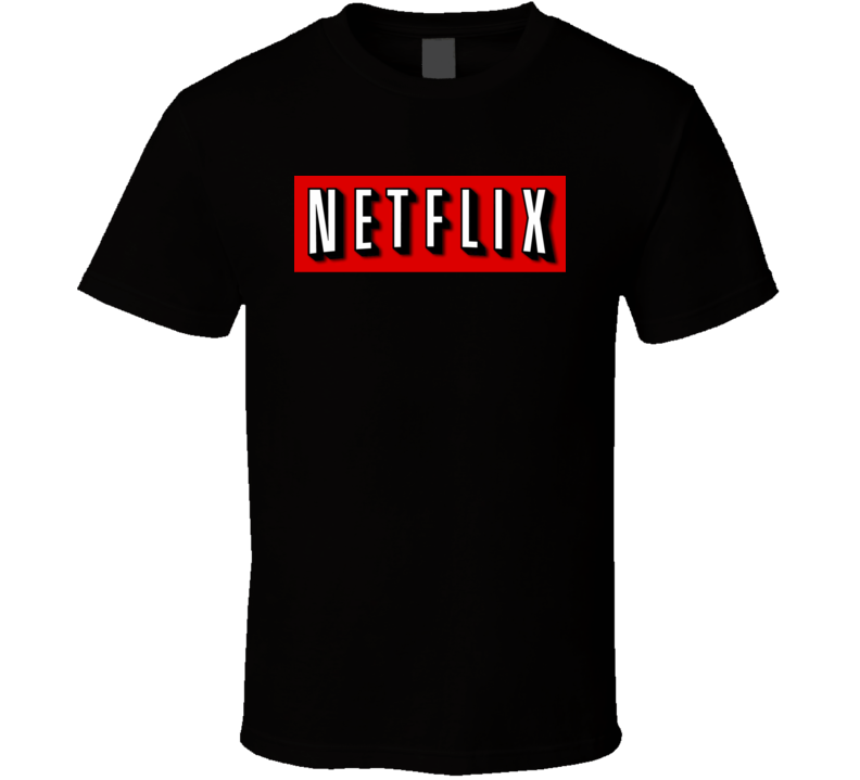 Netflix Logo Funny Cool Movie TV T Shirt