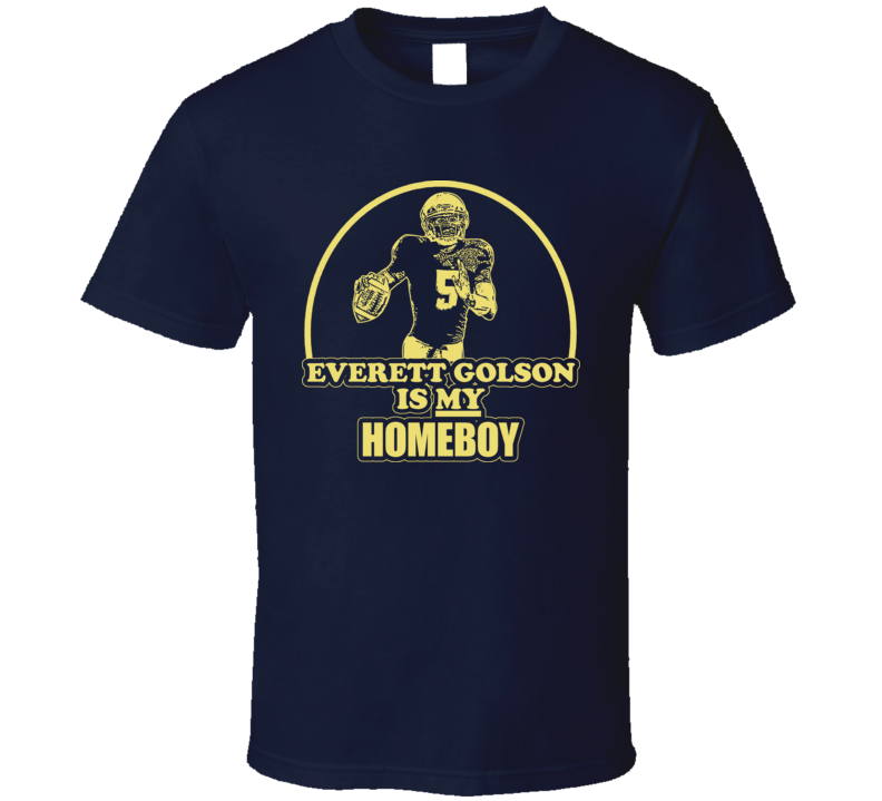 Football Everett Golson Is My Homeboy Notre Dame T Shirt