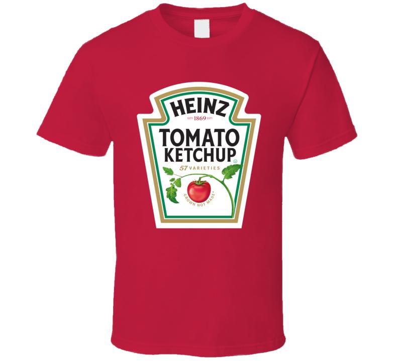 Heinz Tomato Ketchup Bottle Logo Funny T Shirt